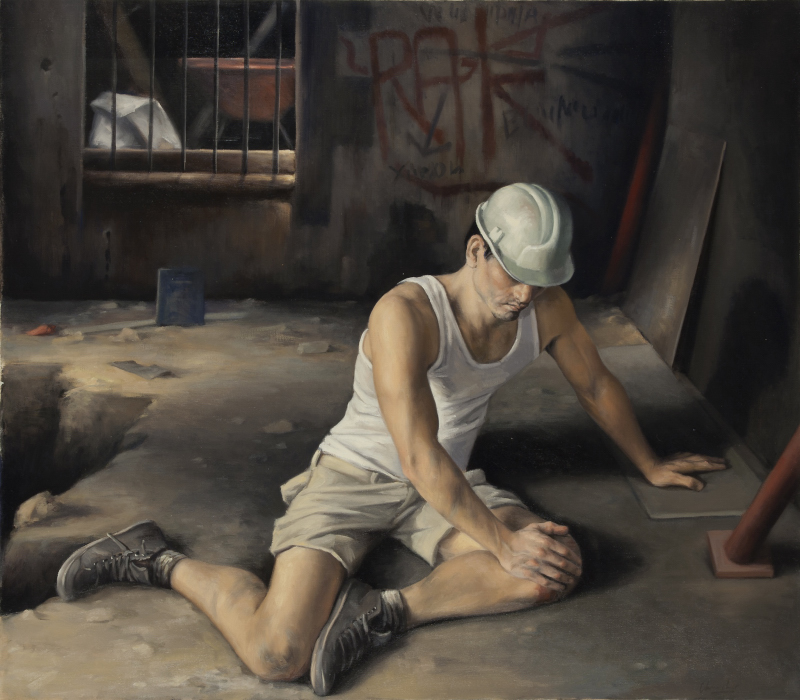 The wounded worker
