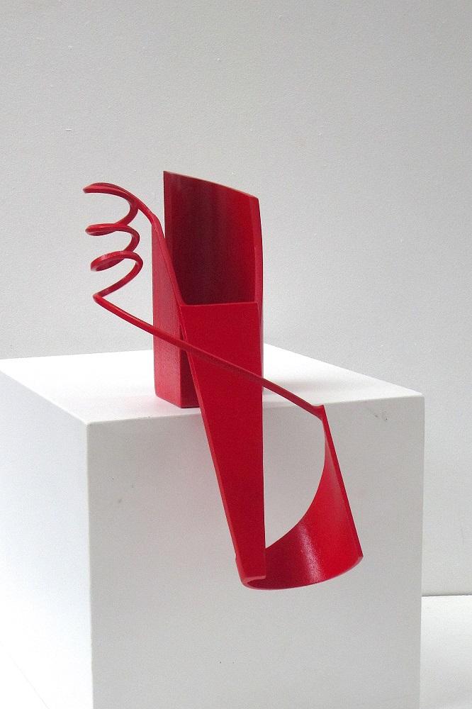 Rivulet – sketch II (red)