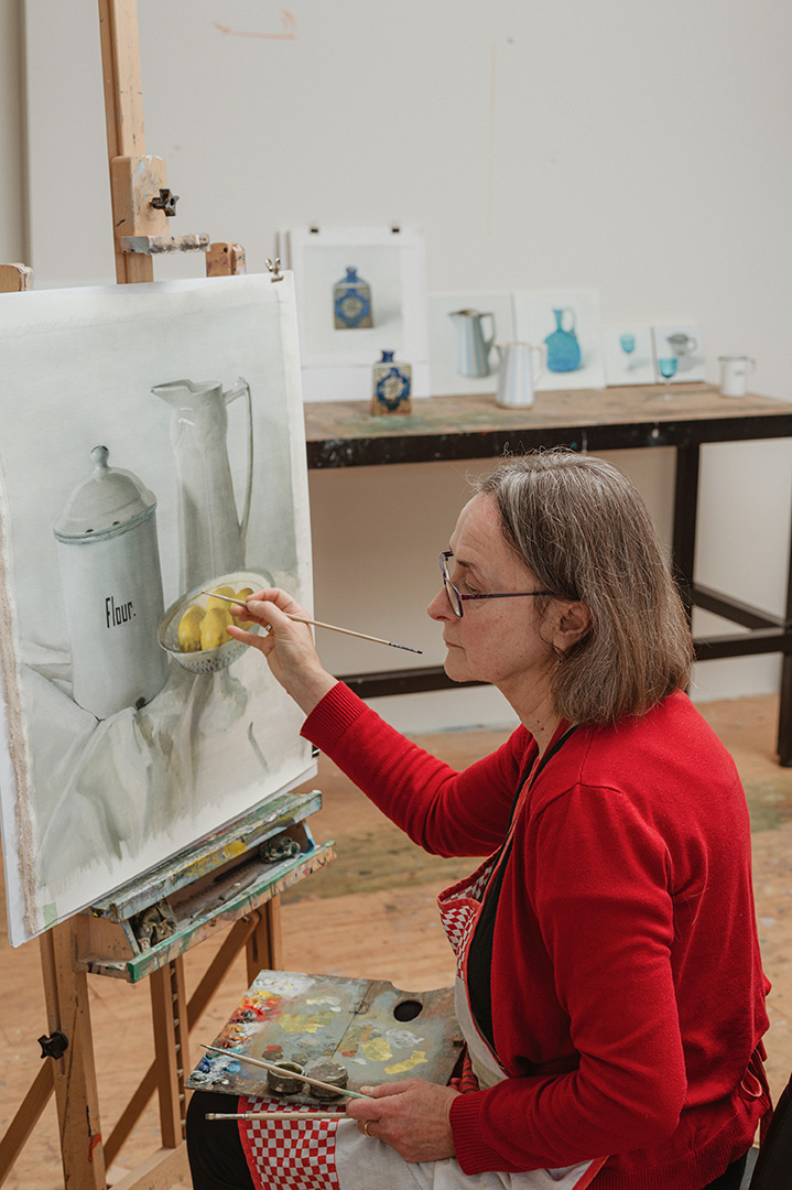 Pam Tippett – Nancy Fairfax Artist in Residence at the Tweed Regional Gallery & Margaret Olley Art Centre