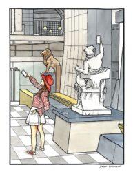 Art imitates life – Musee d'Orsay