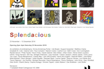 'Splendacious' Print Exchange and Exhibition Curated by Rona Green