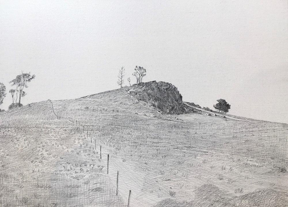Burrinjuck outcrop