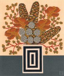 Banksia cobs & gumnuts