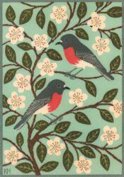 Rose robins