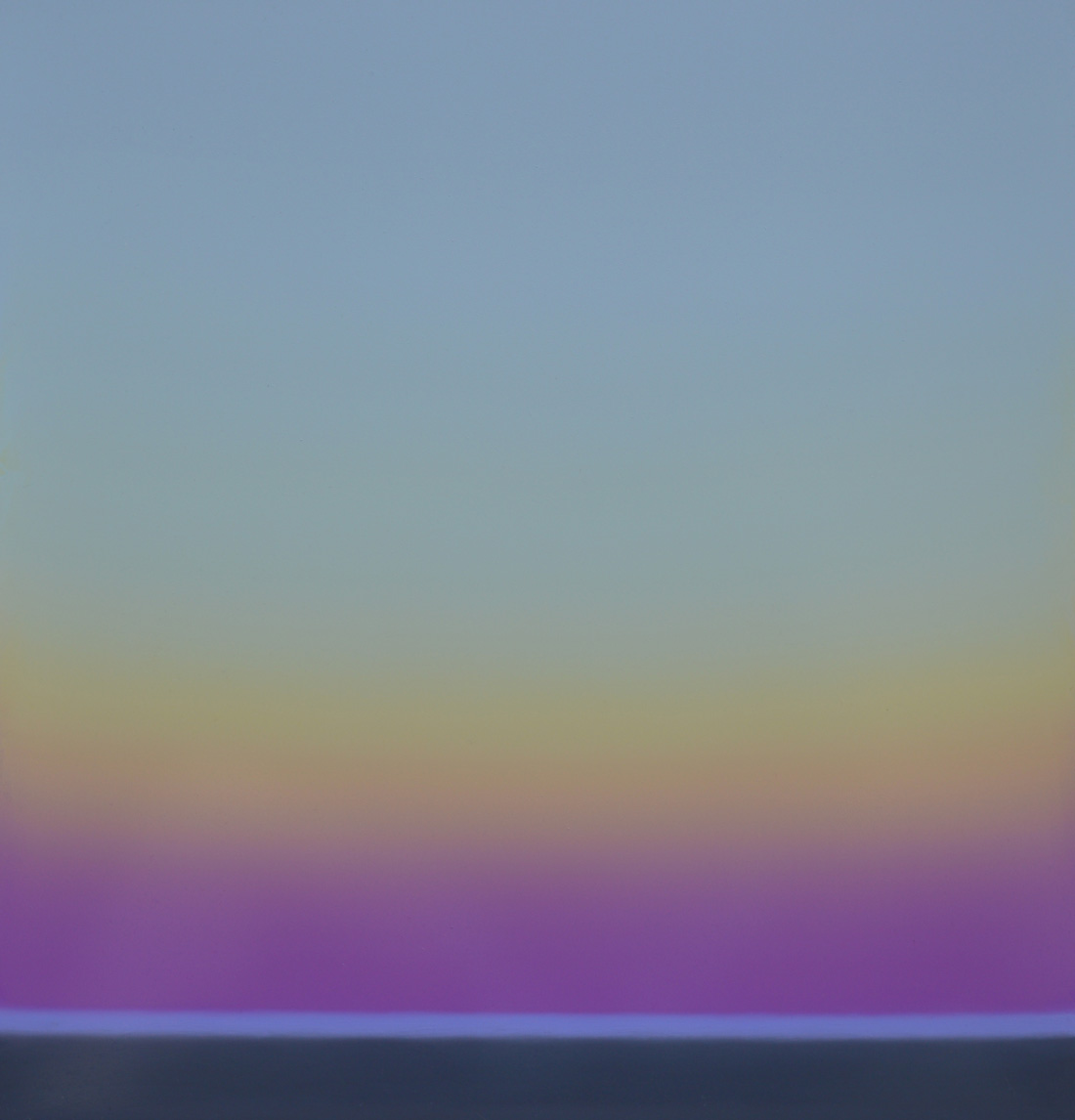 Luminous light on the sea I
