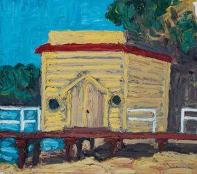 Netley boat shed