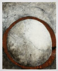 Rust ring rising moon