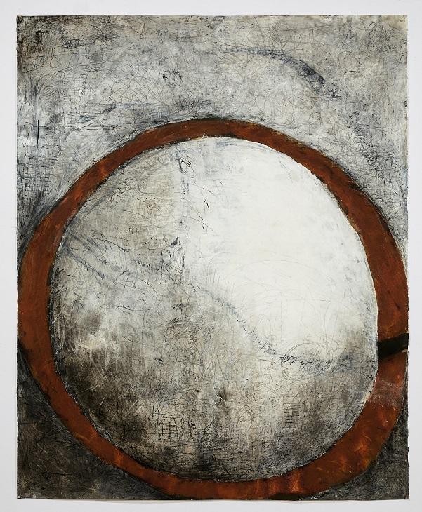 Rust ring rising moon