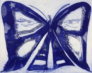 Metamorphosis II (blue)