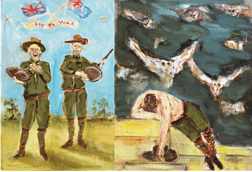 Rodney Pople and Nick Howson – Finalists in the 2020 Gallipoli Art Prize