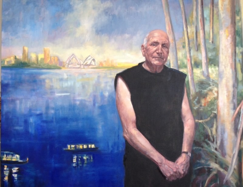 Christine Wrest-Smith Finalist in the Percival Portrait Painting Prize