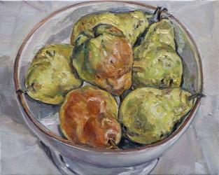 Green pears III