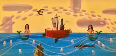 Mariner and mermaids