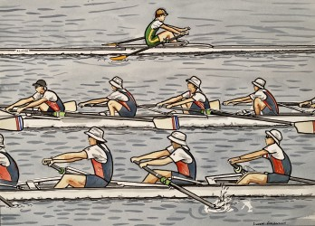 Untitled (Rowers)