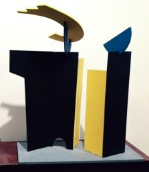 Gateway to never never, maquette for monumental sculpture