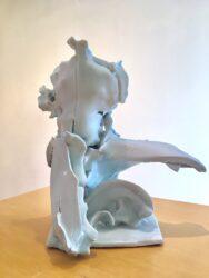 Kneeling figure II