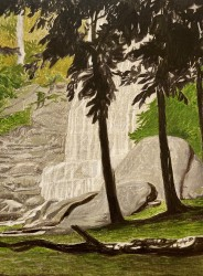 Waterfall, Deep Creek, North Narrabeen