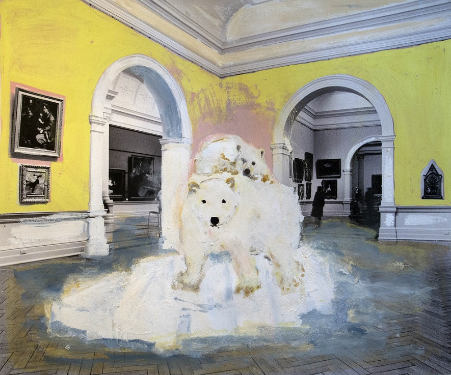 Two polar bears at the AGNSW