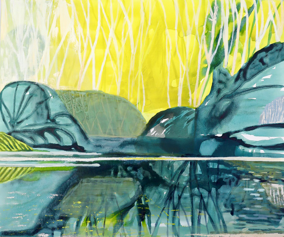 Henry - Australian Galleries -Reflections with yellow