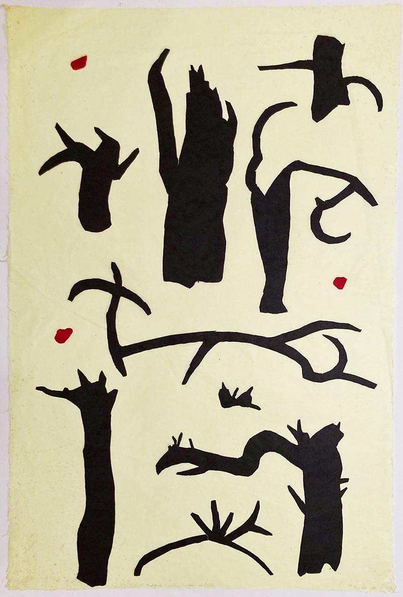 Paddock glyphs – garden of poets