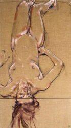 Nude on divan I