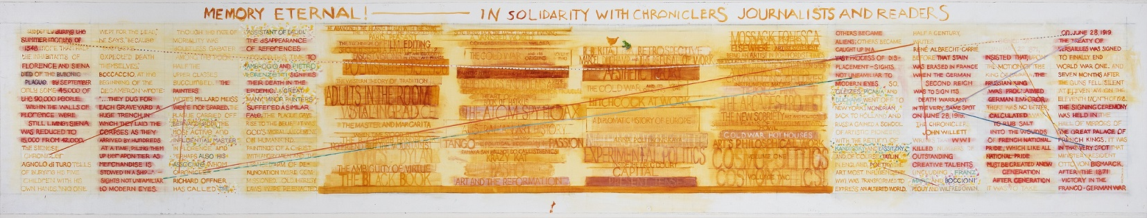 Memory eternal! In solidarity with chroniclers, journalists and readers
