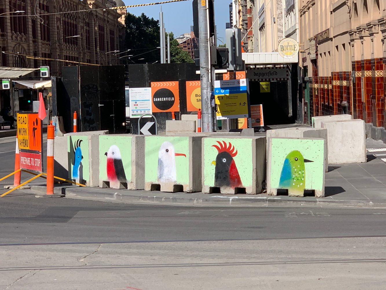 Nick Howson – Melbourne bollards