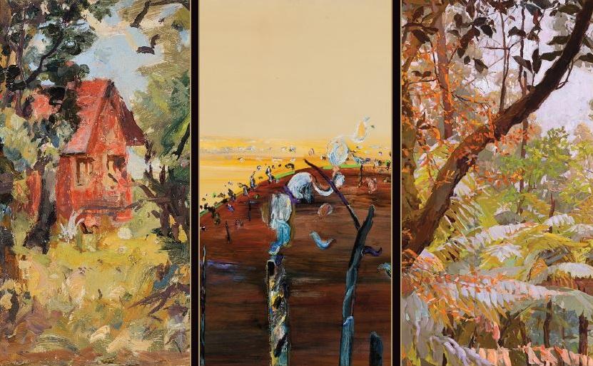 Mary Tonkin – 'The Ranges / 3 Perspectives' at Burrinja