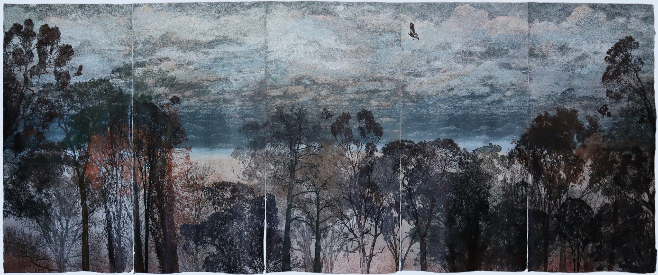 Dianne Fogwell – Winner of the 2021 Geelong Acquisitive Print Award