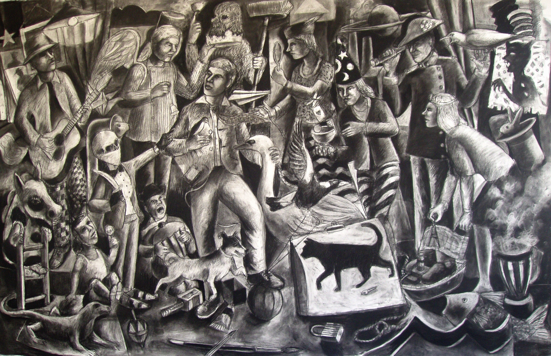 Andrew Antoniou – Finalist in the Fisher's Ghost Art Award 2021