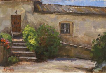 Steps at Marsiliana