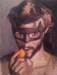 Dani Batman with apricot