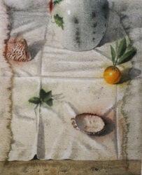 Arrangement on a cloth II