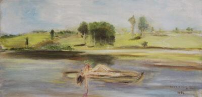 Summer noon on the Hawkesbury 1896