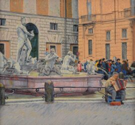 """Postcard from Rome -€"""" the lovely accordion"""