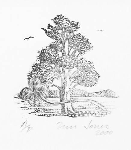 Tree with clover