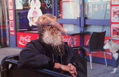Having coffee down the street with Jim Cingovski