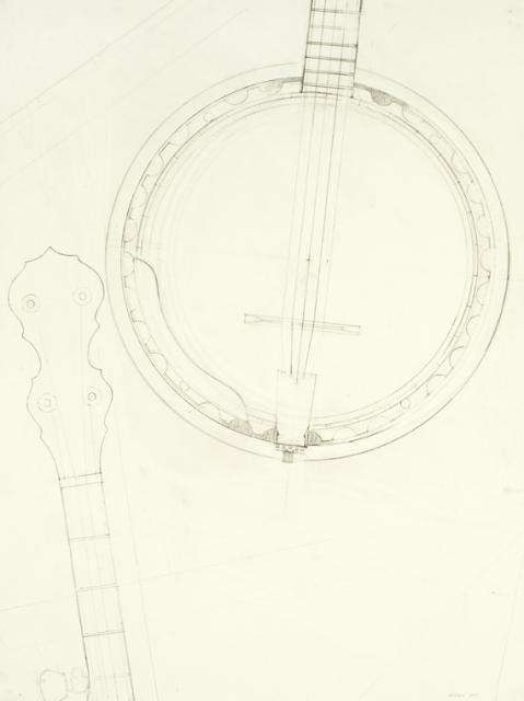 Learning to draw the 5-string banjo