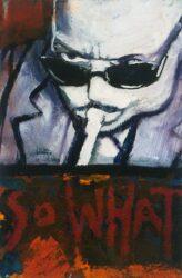 Portrait 4 (angry jazzman)