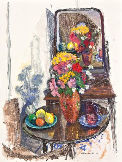Still life with Byzanta vase