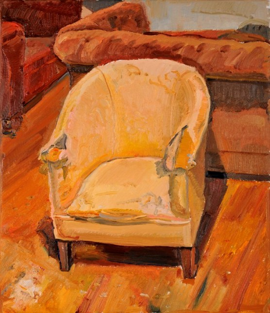 Deteriorated tub chair