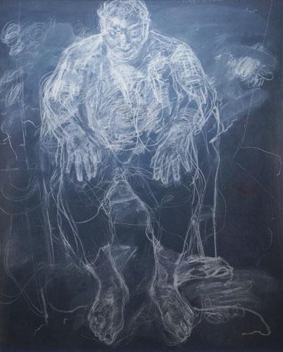 Chalk board drawing