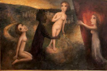 Dante invokes the muses