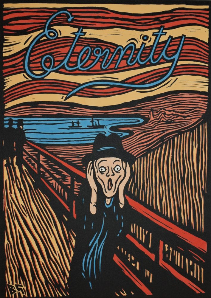 'Eternity' after Munch, Stace + Sharp