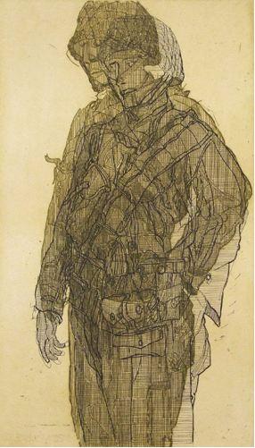 Bayeux soldat IV (study)