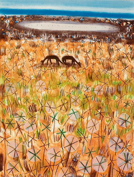 Horses grasses