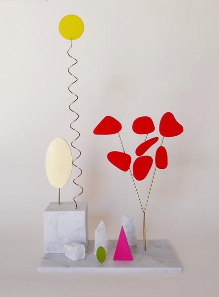 Red tree – yellow sun