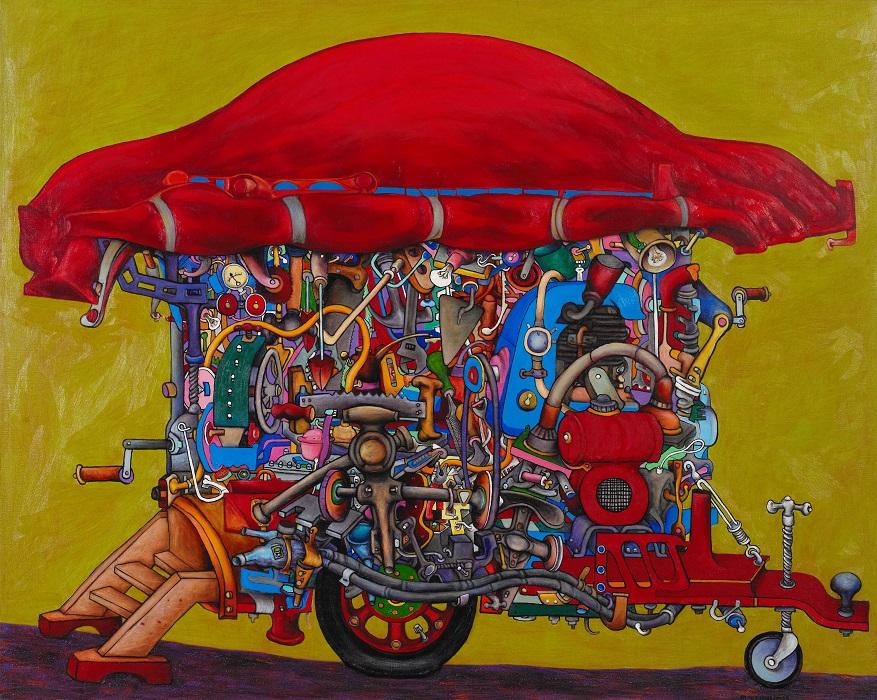 Harold Wright's tinker van