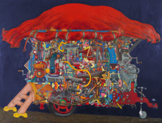 Harold Wright's tinker truck