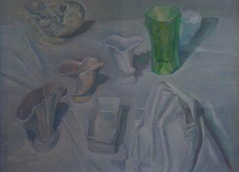 Green vase II